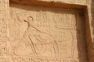 Pharaoh subdues his enemies