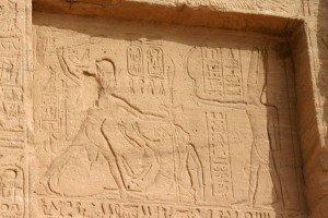 Pharaoh subdues his enemies