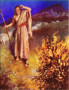 Moses & the Burning Bush