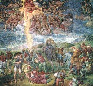 The Conversion of Saul, Michelangelo Buonarroti