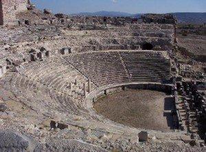 Ampitheatre at Miletus