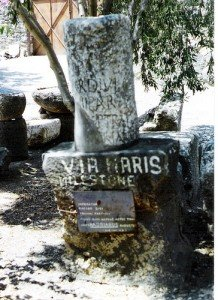 Via Maris Milestone Found at Capernaum