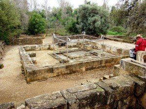 High place built by Jeroboam at Dan to house the golden calf