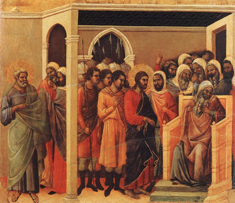 Christ Before Caiaphas & the Sanhedrin