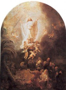 """Ascension"", Rembrandt Harmensz"