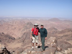 RVL and Bob at Sinai, 2007