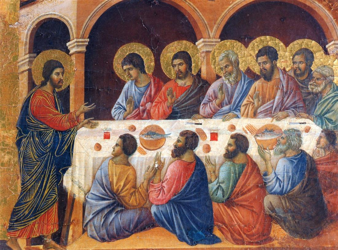 The Appearance to the Apostles (Maestà)